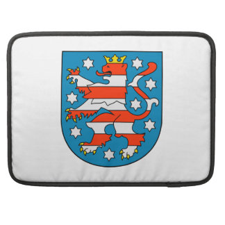 Thuringia coat of arms MacBook pro sleeves