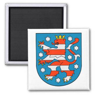 Thuringia coat of arms magnet