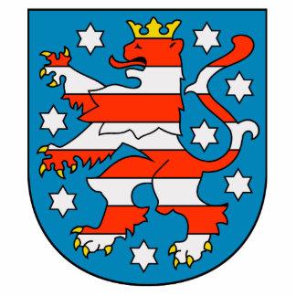 Thuringia coat of arms photo cutout