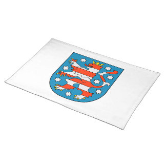 Thuringia coat of arms placemat