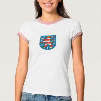 Thuringia coat of arms tee shirt