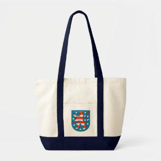Thuringia coat of arms tote bag