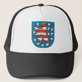 Thuringia coat of arms trucker hat