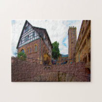 Thuringia Germany Castle. Jigsaw Puzzle