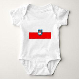 Thuringia national flag shirt