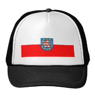 Thuringia national flag trucker hat