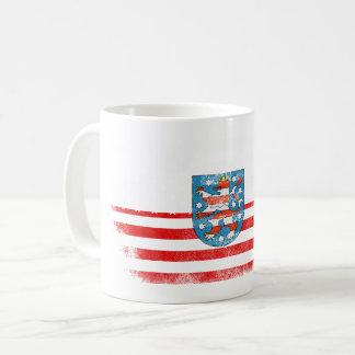 Thuringian American Flag   Thuringia and USA Coffee Mug