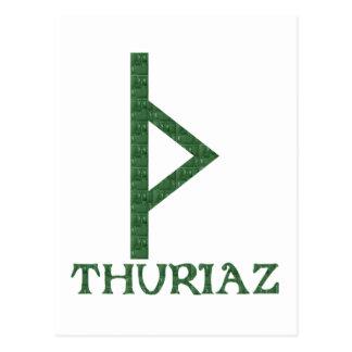Thurisaz Postcard