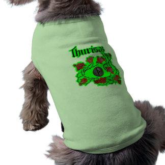 THURISAZ (protection) Dog T Shirt