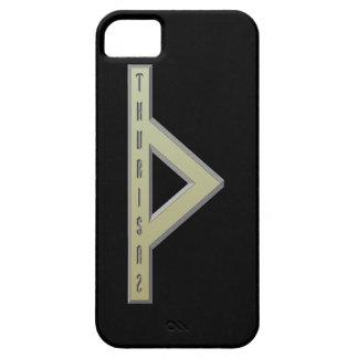 Thurisaz Rune gold iPhone SE/5/5s Case