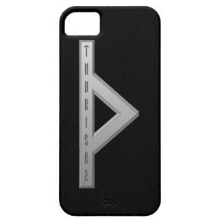 Thurisaz Rune grey iPhone SE/5/5s Case