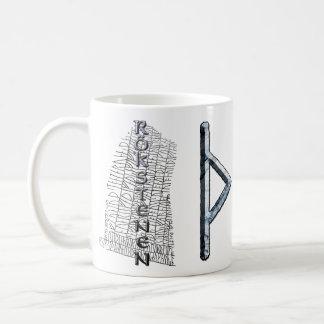 Thurisaz rune mug, Thor's symbol Coffee Mug