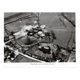 Thurleigh castle mound postcard