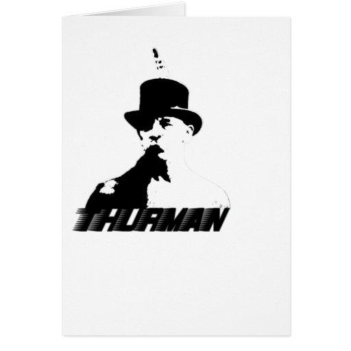 Thurman che greeting card