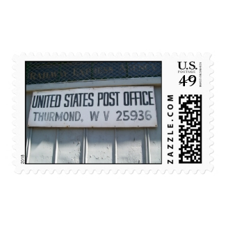 Thurmond West Virginia Postage Stamp