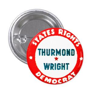 Thurmond-Wright - botón Pin Redondo De 1 Pulgada