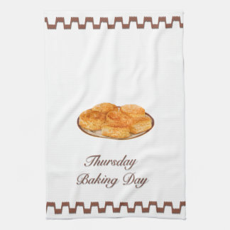 Thursday is Baking Day Kitchen Towel