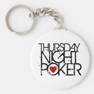 Thursday Night Poker Keychain