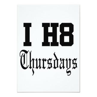 thursdays card