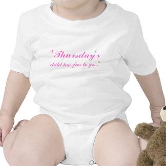 """Thursday's, child has far to go..."" Baby Creeper"