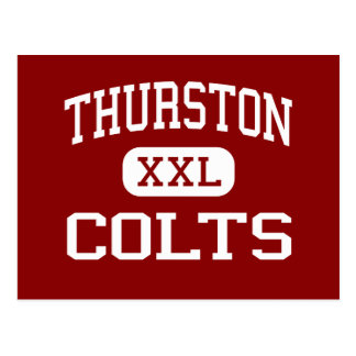 Thurston - Colts - High - Springfield Oregon Postcard