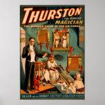 Thurston - Demons & Donkey Vanish Trick Magic Print