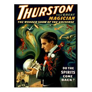 Thurston - Do the Spirits Come Back? Postcard
