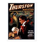"Thurston - ""Do the Spirits Come Back?"" Postcard"