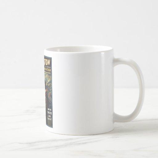 Thurston el gran mago 2 tazas de café