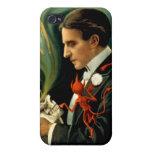 Thurston el gran mago C. 1915 iPhone 4 Cárcasa