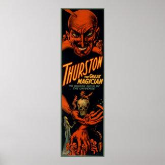 Thurston el gran mago posters