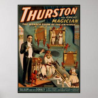 Thurston el gran mago impresiones