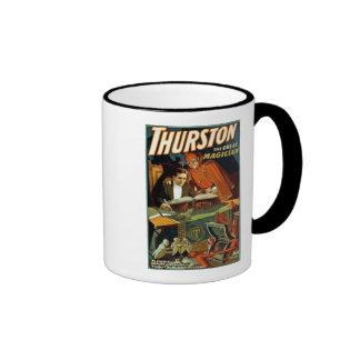 Thurston el gran mago - vintage taza a dos colores