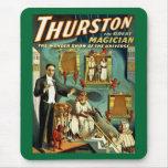 Thurston el mago - la demostración de la maravilla alfombrillas de ratones