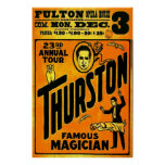 Thurston, Famous Magician 23rd annual tour. Print