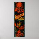 """Thurston """"gran demostración del mago del universo  póster"""