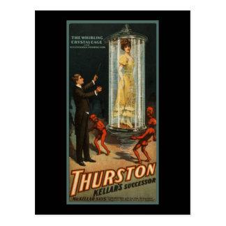 Thurston Kellar s successor Post Cards