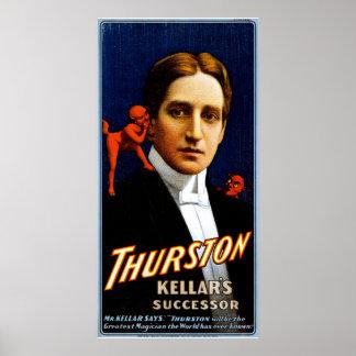 Thurston Kellar s successor Print