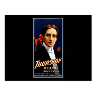 Thurston Kellar's successor Postcard