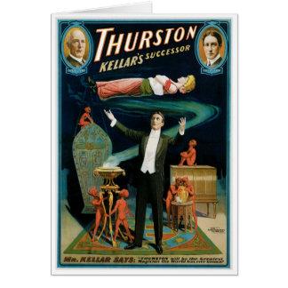 Thurston ~ Kellar's Successor Vintage Magic Act Card