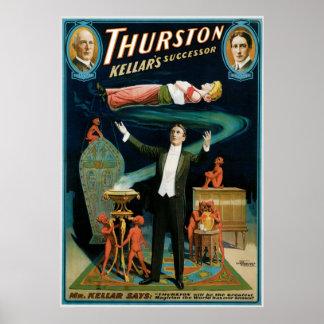 Thurston ~ Kellar's Successor Vintage Magic Act Posters