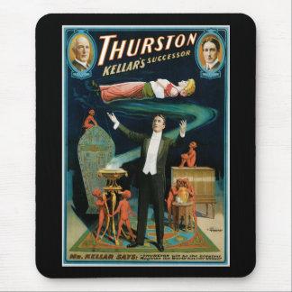 Thurston, Kellers Successor vintage Magician Mouse Pad