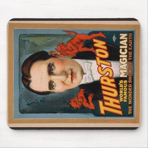 """Thurston, """"la demostración de la maravilla Th retr Alfombrilla De Raton"""
