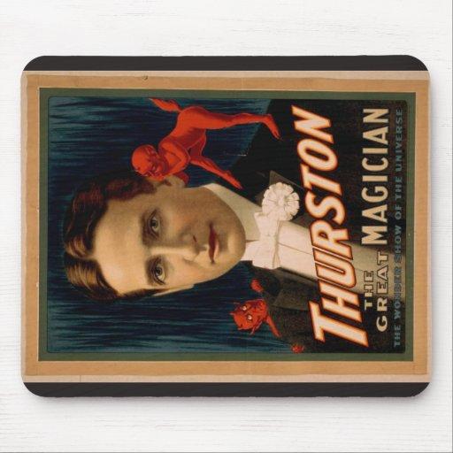 """Thurston, """"la demostración de la maravilla vintage alfombrilla de ratones"""