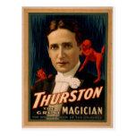 """Thurston, """"la demostración de la maravilla vintage postal"""
