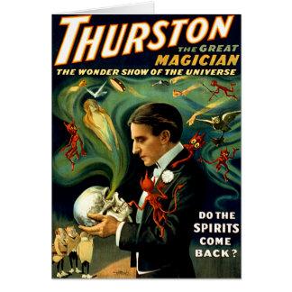 ¿Thurston - las bebidas espirituosas se vuelven? Tarjeta De Felicitación