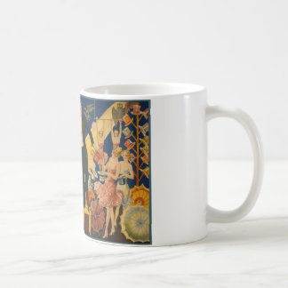 Thurston, master magician all out of a hat classic white coffee mug