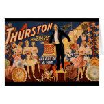 Thurston Master Magician Greeting Card