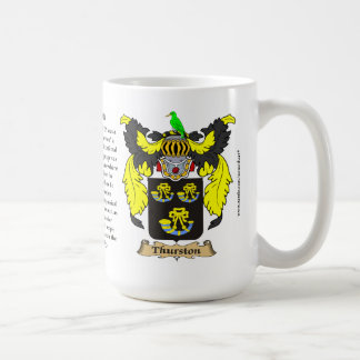 Thurston name the Origin the Meaning and the Cre Coffee Mugs