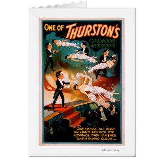 Thurston s Astounding Mysteries Magic Poster Card